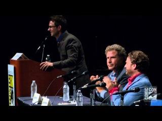 Нарезка с пресс-конференции на ComicCon с участием Уилла Феррелла и Зака Галифианакиса