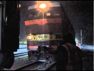 Смена локомотивов на ст. Вековка, ГЖД