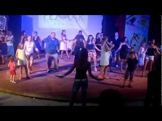 Клубный танец отеля Pemar beach resort 5