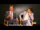 Emily Owens, M.D. - Justin Hartley and Michael Rady Interview (русские субтитры)