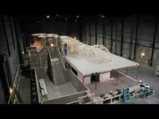 """Постройка декораций для съемок мини-сериала """"Титаник"""" (2012)"""