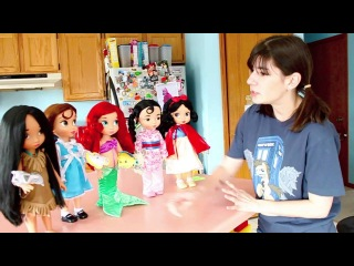 Dolly Review: Disney Animators Collection Toddler Princess Dolls