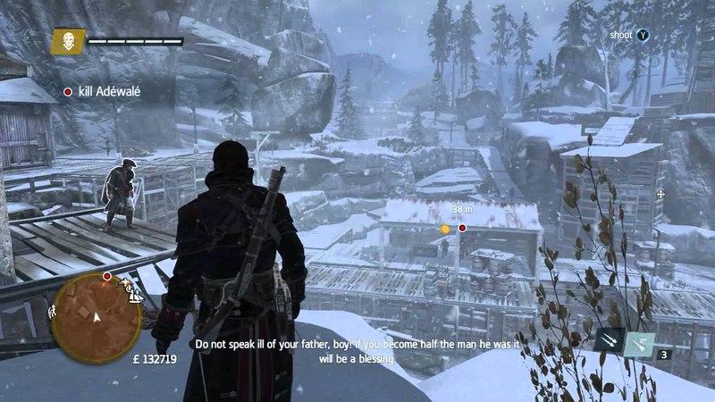 Haytham Adewale Assassin's Creed Rogue