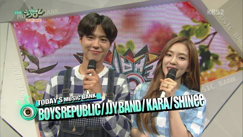 12 06 15 KBS2 Music Bank E790 MC Introducing