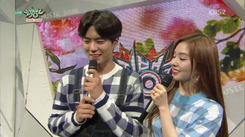 12 06 15 Music Bank E790 Park Bo Gum MC Cut