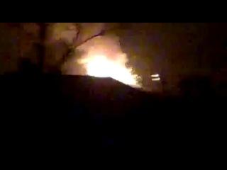 Нихра себе! Мощные взрывы на складах в Сватово. Кадры очевидцев