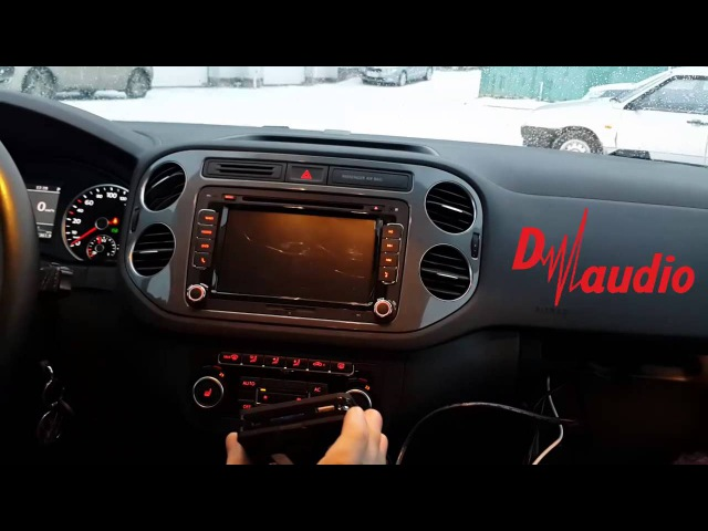 Штатное головное устройство Volkswagen Passat Tiguan HD CarPad Android