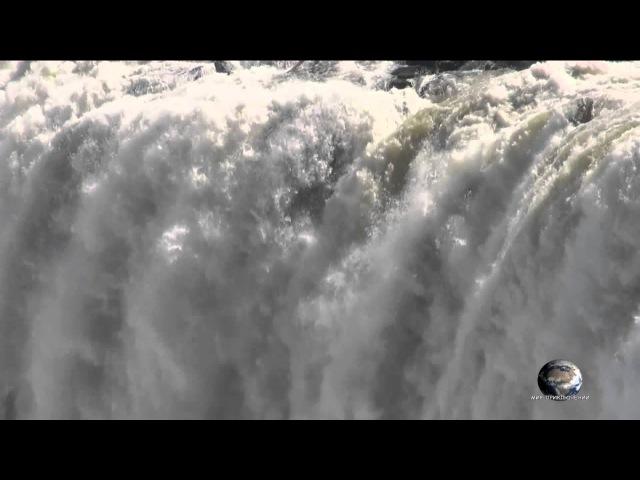 Мир Приключений - Водопад Виктория. Самые красивые водопады Африки. Viсtoria falls. Zambia-Zimbabwe.