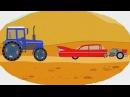 Мультик - Раскраска. Учим Цвета - Монстр-трак / Monster truck - Мультфильмы для детей про