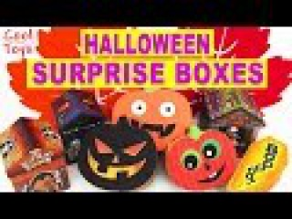Halloween Surprise Boxes Party Kids Shopkins Pocoyo Minions Hello Kitty Oggly Pet Shop