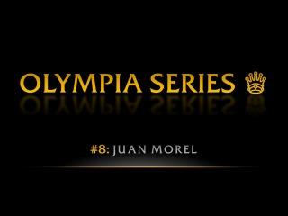 OLYMPIA SERIES: Juan Morel | Pro BB World