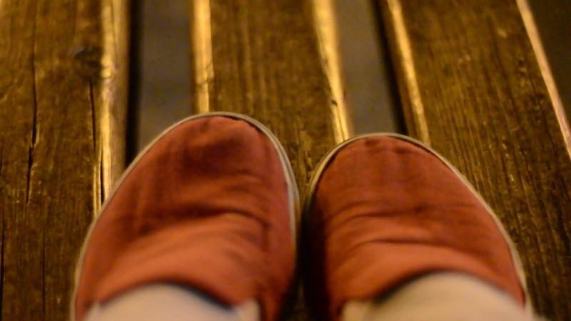 прогулка красных тапочек.. Игра с глубиной пространства 2