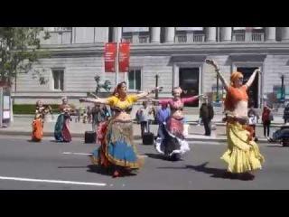 Blue Diamonds Belly Dance @ Sunday Streets Tenderloin San Francisco California April 2014