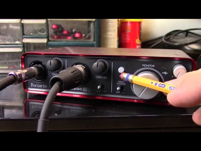 Setting up a PC as an amp simulator updated