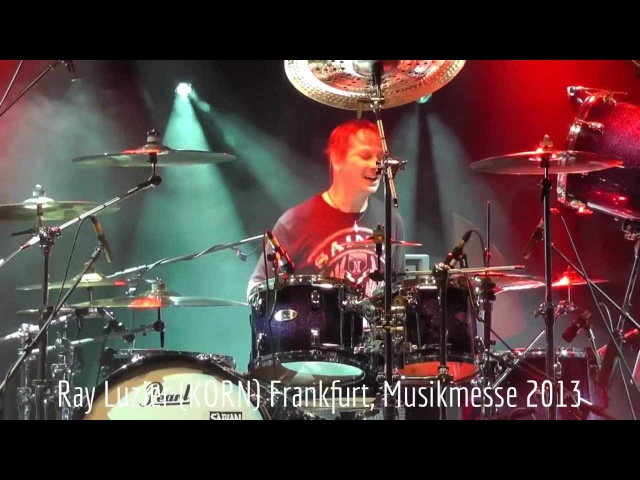 Ray Luzier KoRn Full Show Frankfurt Musikmesse 2013 Re mastered Sound HD