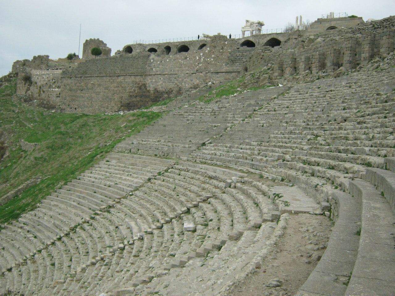 Древнеримский город Пергамон в Турции