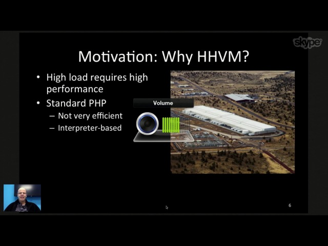 HHVM Efficient and Scalable PHP Hack Execution Guilherme Ottoni Facebook