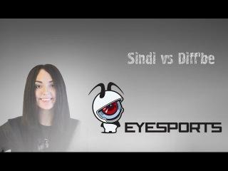 EYESPORTS - Sindi vs Diff'be @de_cache | CS:GO Female Stars Championship.