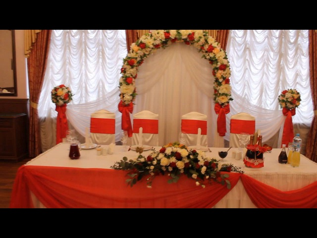 Декор свадьбы в ресторане Милена Event студия TanDem