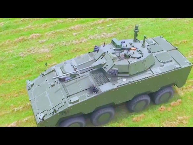 NCSIST Cloud Leopard 8X8 IFV Panoramic Vehicular Imaging System 1080p