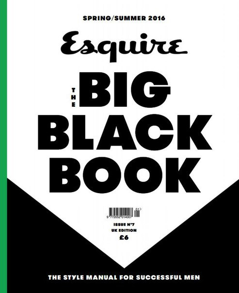 Esquire The Big Black Book - Summer 2016 vk.com