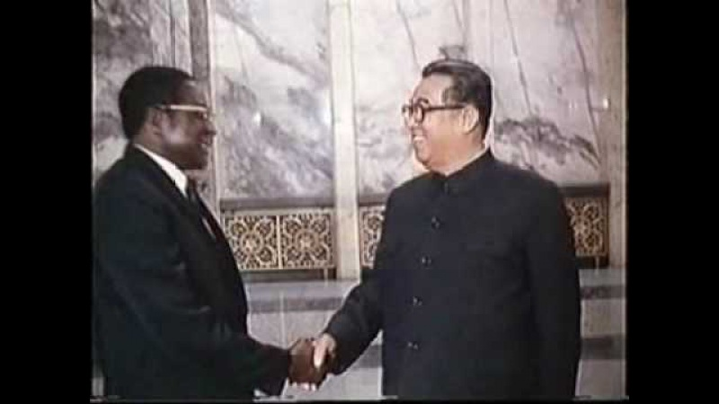 Mugabe is learning from Kim Il Sung!