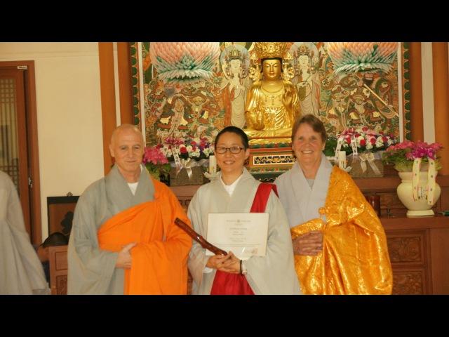 Kathy Park Ji Do Peop Sa Inga Dharma Talk 2016 04 24