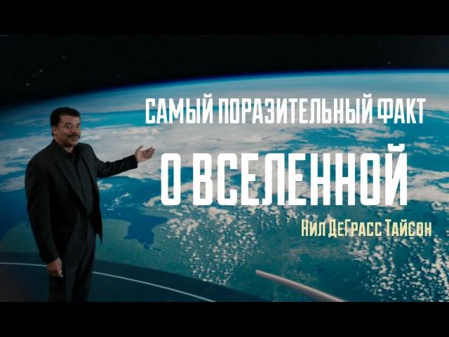 Астрофизик Нил ДеГрасс Тайсон Мы часть Вселенной Самый поразительный факт о Вселенной