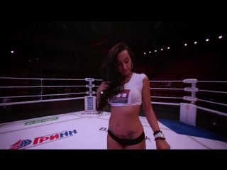 Ринг-герл М-1 Анжелика Андерсон | M-1 Ring-girl Angelica Anderson
