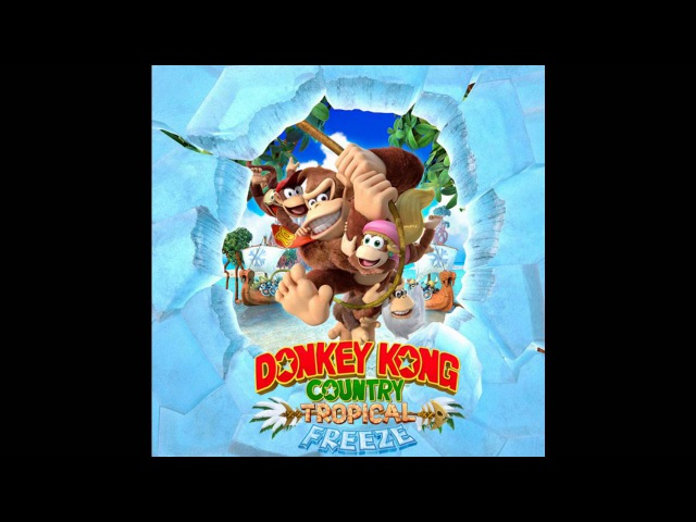 Donkey Kong Country Tropical Freeze Soundtrack Funky Waters Amiss Abyss