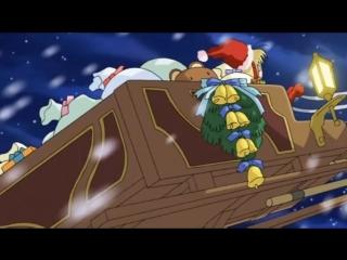 AMV - Навсегда мой Санта - Новый год в аниме  ABBA-Happy New YEAR