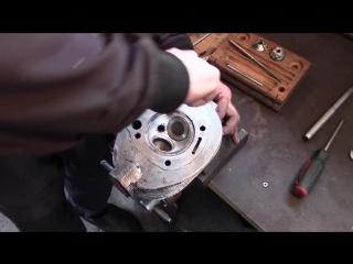 Ремонт головок цилиндра мотоцикла Урал
