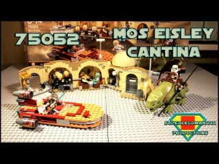 Lego Star Wars 75052 Mos Eisley Cantina Review