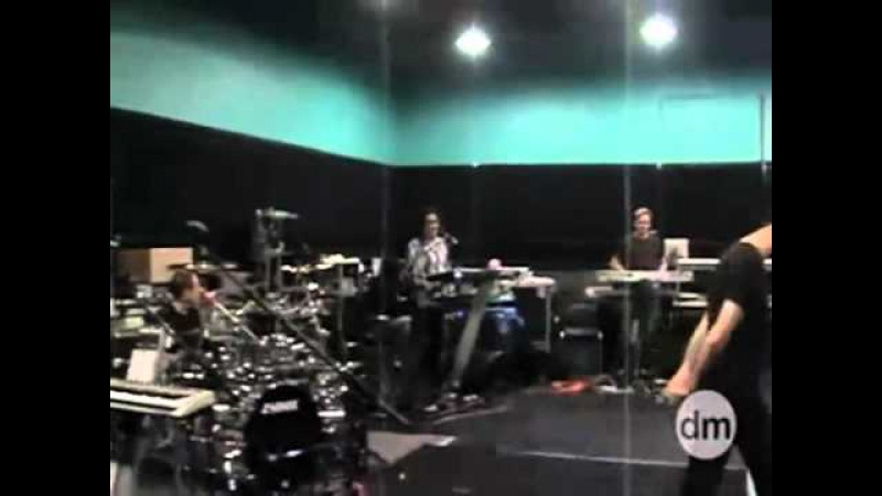 Depeche Mode Just Can't Get Enough Rehearsal