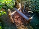 Самодельная скамья для жима лёжа под углом 30° cfvjltkmyfz crfvmz lkz bvf k`f gjl eukjv 30°