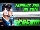 CS:GO - ScreaM training aim on bots [CSGO shooting training]