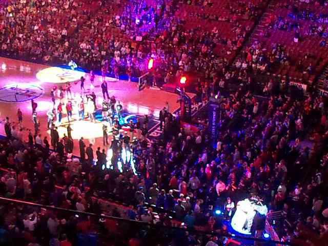 Philadelphia 76ers Intro vs Miami Heat 10/30/13