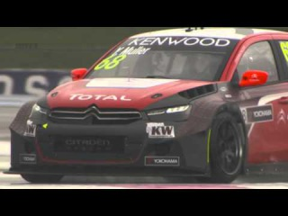 MAKING A SPLASH - The best of WTCC testing in slow motion