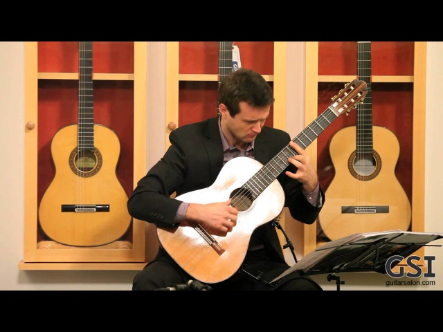 Gigue from Bachs Lute Suite 2 played by Vladimir Gorbach