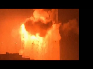Turkey, Ankara, Military Coup - Hellicopter and Tanks attack TV Center