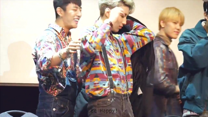 "[Fancam] [19.12.15] B.A.P ""Young, Wild Free"" Fansign Event - Sangam (DaeUp moment at the end :D)"