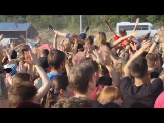 Zaxidfest. zebrahead. crowd surfing.