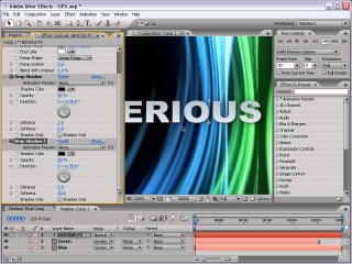 After Effects Tutorial--Moving 3D Lines -- Adobe AE Templets