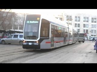 Трамвай 71-633, 5 маршрут, Самара.