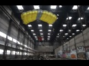 Base Jumping in Abandoned Factory (27 meters)