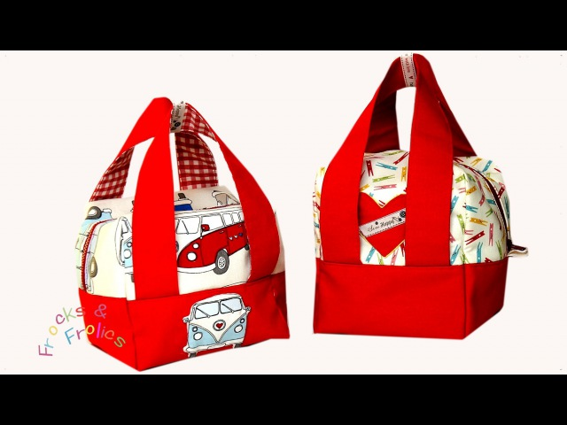 How to sew a Boxy Bag