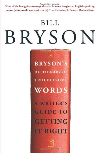1bryson bill dictionary of troublesome words