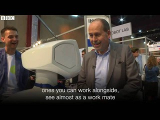 Are people ready for robot colleagues    BBC News