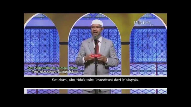 Andaikan Hukum Syariah di Tegakkan Dr Zakir Naik Ceramah Islam