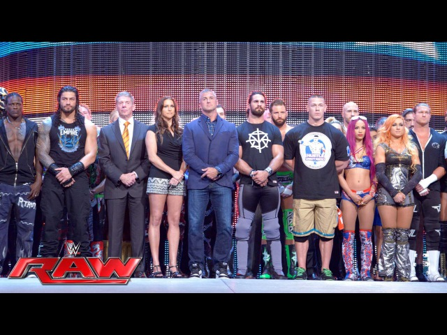 SBMKV Video WWE opens Raw with a Memorial Day 10 bell salute Raw May 30 2016